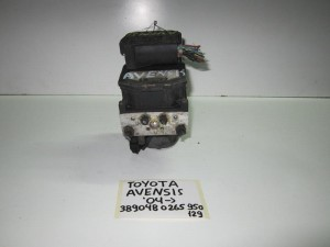Toyota avensis 2003-2009 μονάδα ABS bosch (κωδικός: 389048 0 265 950 129)