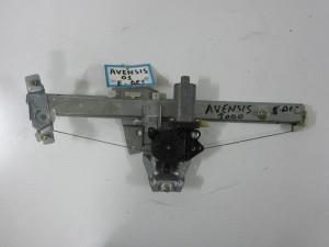 Toyota avensis 1997-2003 ηλεκτρικός γρύλλος παραθύρου εμπρός δεξιός