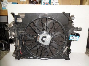 Volvo xc90 03 4.5cc βενζίνη καί 2.5cc diesel ψυγείο κομπλέ (νερού-air condition-βεντιλατέρ-intercooler)