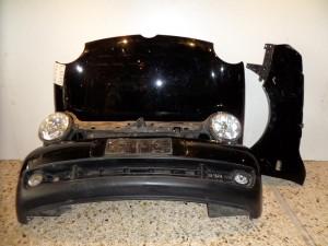 VW lupo 98 μετώπη-μούρη εμπρός κομπλέ μαύρη