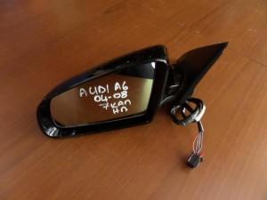 Audi A6 2004-2008 ηλεκτρικός καθρέπτης αριστερός μαύρος (7 καλώδια)