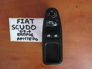 Fiat scudo,Citroen jumpy,Peugeot expert 2007-2016 διακόπτης παραθύρου εμπρός αριστερός