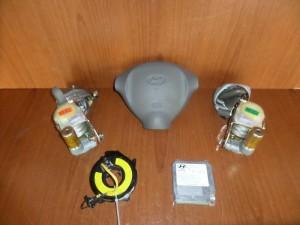 Hyundai santa fe 00-06 airbag, ταμπλό μπέζ