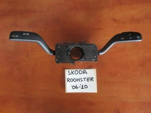 Skoda Roomster-Praktik 06-10 διακόπτης φώτων-φλάς καί υαλοκαθαριστήρων