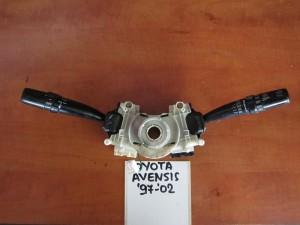 Toyota avensis 1997-2003 διακόπτης φώτων-φλάς και υαλοκαθαριστήρων