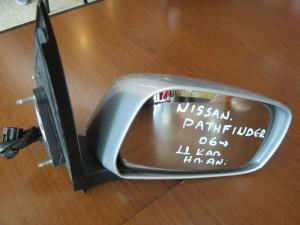 Nissan Pathfinder 2005-2012 ηλεκτρικός ανακλινόμενος καθρέπτης δεξιός ασημί (11 καλώδια)