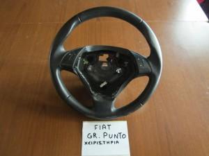 Fiat grande punto 05-12 τιμόνι βολάν (με χειριστήρια)