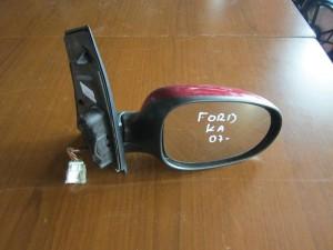 Ford ka 08 ηλεκτρικός καθρέφτης δεξιός μπορντό