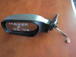 Mazda 6 2002-2008 ηλεκτρικός ανακλινόμενος καθρέφτης αριστερός ασημί