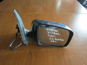 Nissan x-trail 2012 ηλεκτρικός ανακλινόμενος καθρέφτης δεξιός μπλέ