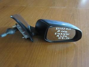 Nissan Pixo 2009-2014 μηχανικός καθρέφτης δεξιός γκρί-μπλέ