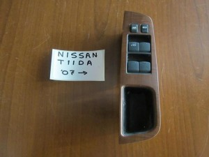 Nissan Tiida 2007-2011 αριστερός διακόπτης παράθυρων 4πλός