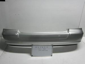 Toyota avensis 03-08  προφυλακτήρας πίσω ασημί