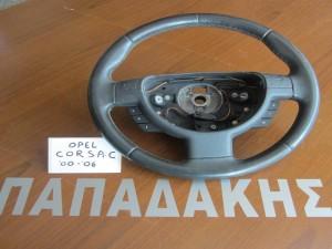 Opel corsa C 00-06 βολάν-τιμόνι (με χειριστήρια)