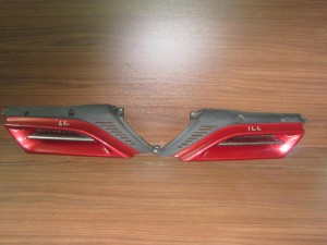 Alfa romeo 166 1999-2003 μάσκα εμπρός δεξιά-αριστερή μπορντό
