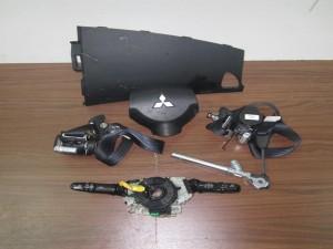 Mitsubishi outlander 2007-2013 σετ airbag μαύρα