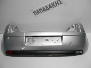 Citroen C4 2004-2008 5θυρο προφυλακτήρας οπίσθιος ασημί