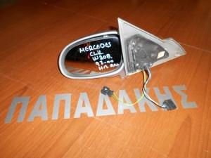 Mercedes CLK W208 1997-2000 καθρέπτης αριστερός ηλεκτρικός ανάκλιση ασημί