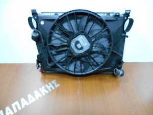 mercedes s l r230 2002 2008 set psigion ventilater nerou ac ladiou 1 300x225 Mercedes SL R230 2002 2008 σετ ψυγείων βεντιλατέρ νερού a/c λαδιού