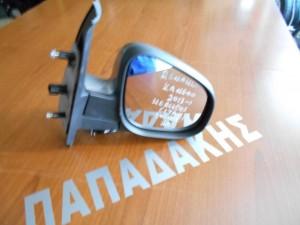 Renault Kangoo 2013-2017 ηλεκτρικός καθρέπτης δεξιός σκούρο ασημί