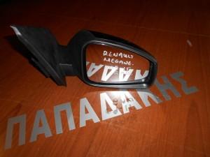 Renault Megane  2008-2016 καθρέπτης εξωτερικός δεξιός 8 ακίδων μαύρος