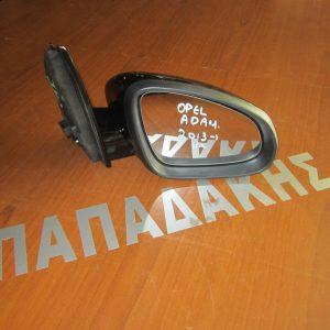 Opel Adam 2013-2017 καθρέπτης δεξιός ηλεκτρικός μαύρος