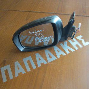 Suzuki Sx 4 2011-2013 καθρέπτης αριστερός ηλεκτρικός ανακλινόμενος με φλας γκρι