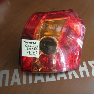 toyota corolla 2004 2006 3th5th fanari piso dexi 300x300 Toyota Corolla 2004 2006 3θ/5θ φανάρι πίσω δεξί