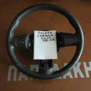 toyota corolla 2004 2006 hb lb volan timoniou mavro 300x300 Toyota Corolla 2004 2006 H/B L/B βολάν τιμονιού μαύρο