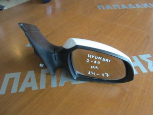 Hyundai i10 2014-2017 καθρέπτης δεξιός ηλεκτρικός άσπρος