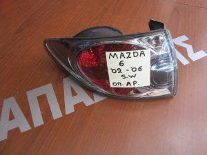 Mazda 6 Station Wagon 2002-2006 φανάρι πίσω αριστερό