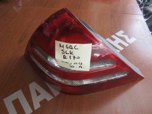 Mercedes SLK R170 2000-2003 φανάρι πίσω αριστερό
