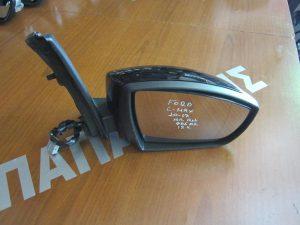 Ford C-Max 2010-2017 καθρέπτης δεξιός ηλεκτρικά ανακλινόμενος φως ασφαλείας μαύρος