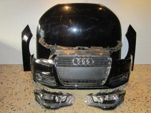 audi a1 2010 2015 mouri koble mavri 300x225 Audi A1 2010 2015 μετώπη μούρη εμπρός κομπλέ μαύρη