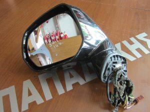 Citroen C4 Picasso 2007-2013 καθρέπτης αριστερός  ηλεκτρικά ανακλινόμενος φως ασφαλείας μαύρος