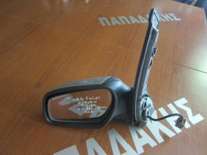 Ford Focus C-Max 2007-2010 καθρέπτης αριστερός ηλεκτρικός ασημί (φλας-φως ασφαλείας)