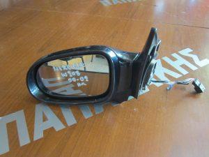 Mercedes CLK W208 2000-2002 καθρέπτης αριστερός ηλεκτρικός με φλας μπλέ σκούρο