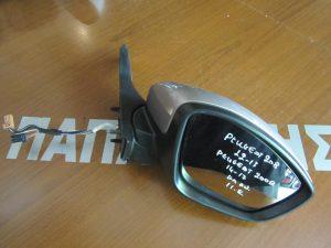 Peugeot 208 2012-2017/Peugeot 2008 2014-2017 καθρέπτης δεξιός ηλεκτρικά ανακλινόμενος χρυσαφί