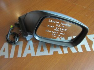 Peugeot 807 2002-2014 καθρέπτης δεξιός ηλεκτρικός 2 φις ασημί