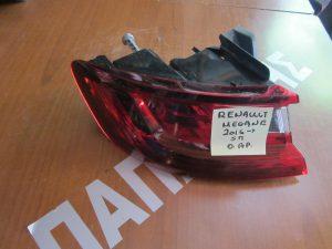Renault Megane 2016-> φανάρι πίσω αριστερό 5θυρο