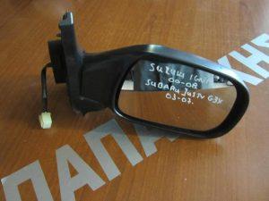 Subaru Justy G3X 2003-2007 καθρέπτης δεξιός ηλεκτρικός άβαφος