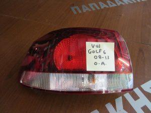 VW Golf-6 2008-2013 φανάρι πίσω αριστερό