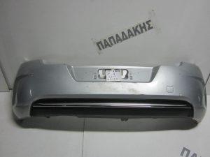 Citroen C4 2011-2017 προφυλακτήρας πίσω ασημί