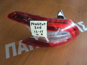 Peugeot 308 2013-2017 φανάρι πίσω αριστερό
