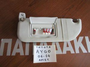 Toyota Aygo 2006-2014 αλεξήλιο αριστερό