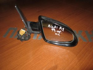 Audi A2 1999-2005 δεξιός ηλεκτρικός καθρέπτης μαύρος