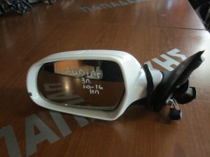 Audi A4 2010-2015 αριστερός ηλεκτρικός καθρέπτης άσπρος