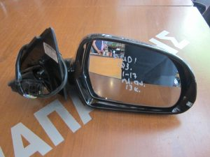 Audi Q3 2011-2017 δεξιός ηλεκτρικά ανακλινόμενος καθρέπτης μαύρος