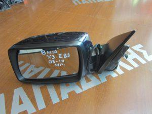 Bmw X3 E83 2003-2010 αριστερός ηλεκτρικός καθρέπτης μπλε σκούρο