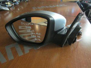 Citroen C3 2016-2017 αριστερός ηλεκτρικός καθρέπτης μαύρος